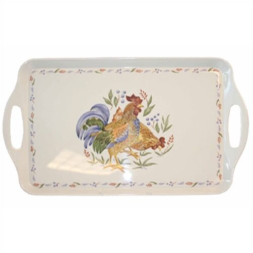 Corelle Country Morning Rectangular Serving Tray