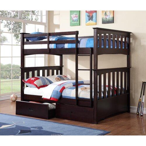 Williams import co kira full standard bunk bed reviews for Full over full bunk beds
