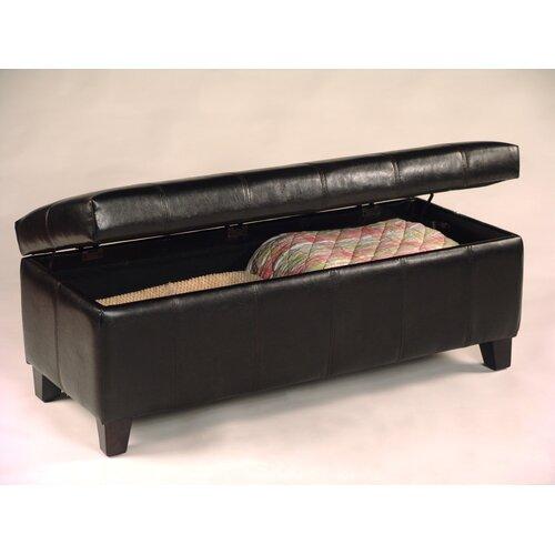 Vinyl Storage Bench