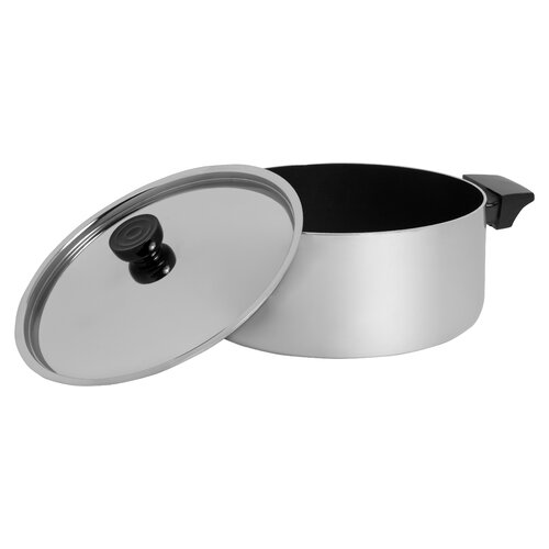 Revere Cookware 5-qt. Polished Aluminum Round Dutch Oven