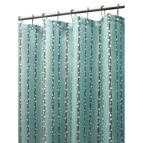 Prints Polyester Bubbles On A String Shower Curtain
