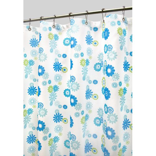 Watershed Prints Polyester Starburst Floral Shower Curtain