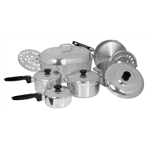 Classic Cast Aluminum 13-Piece Classic Cookware Set