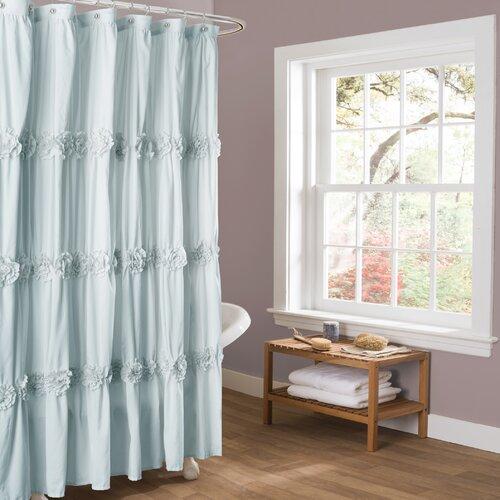 Lush Decor Darla Spa Shower Curtain & Reviews