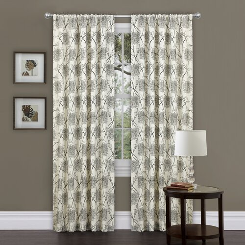 Special Edition by Lush Decor Oxford Rod Pocket Curtain Single Panel