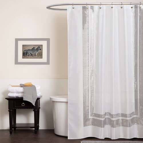 Special Edition by Lush Decor Jewel Polyester Shower Curtain