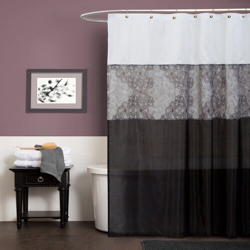 Special Edition by Lush Decor Anita Polyester Shower Curtain