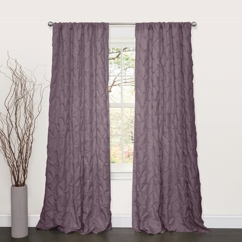 Special Edition by Lush Decor Lake Como Rod Pocket Curtain Single Panel