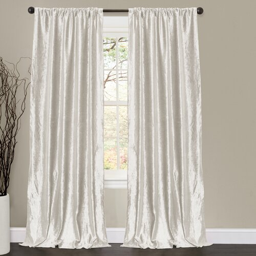 Special Edition by Lush Decor Velvet Dream Rod Pocket Curtain Panel