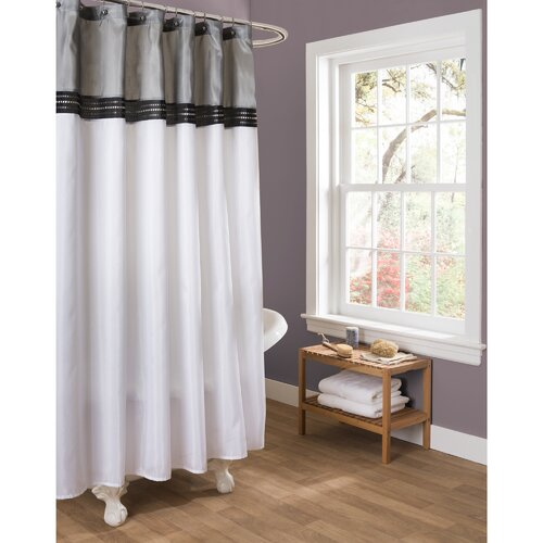 Living Room Curtains Bed Bath And Beyond Red and Black Shower Curtain