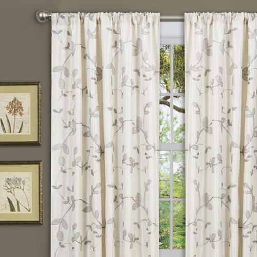Special Edition by Lush Decor Garden Rod Pocket Curtain Single Panel