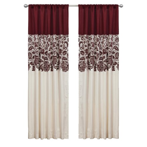 Special Edition by Lush Decor Estate Garden Rod Pocket Curtain Single Panel