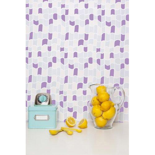 Kimberly Lewis Home Marigny Geometric Tiles Wallpaper