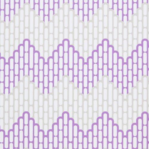 Kimberly Lewis Home Sierra Chervon Herringbone Wallpaper