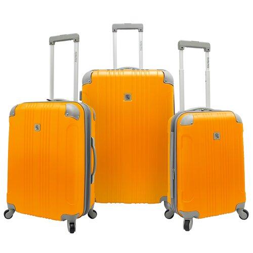 Malibu Hardsided 3 Piece Spinner Luggage Set