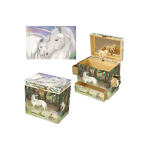Enchantmints Unicorn Treasure Music Box