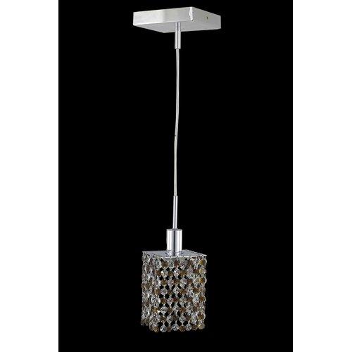Elegant Lighting Mini 1 Light Pendant