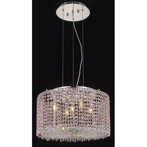 Elegant Lighting Moda 5 Light Pendant