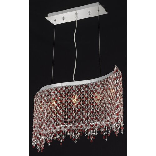 Elegant Lighting Moda 5 Light Pendant