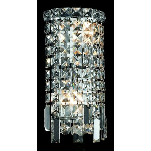 Elegant Lighting Maxim 2 Light Wall Sconce