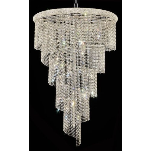 Elegant Lighting Spiral 29 Light Pendant