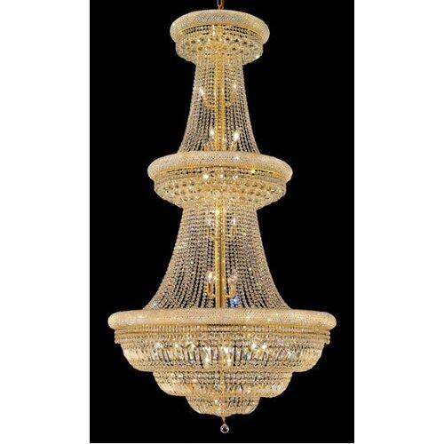 Elegant Lighting Primo 38 Light  Chandelier