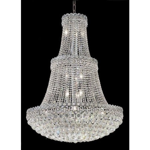 Century 17 Light Chandelier