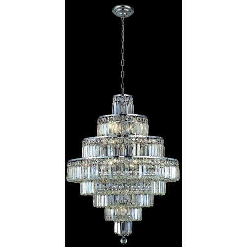 Elegant Lighting Maxim 18 Light Chandelier