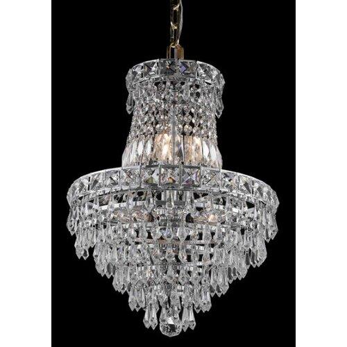 Elegant Lighting Tranquil 6 Light Chandelier