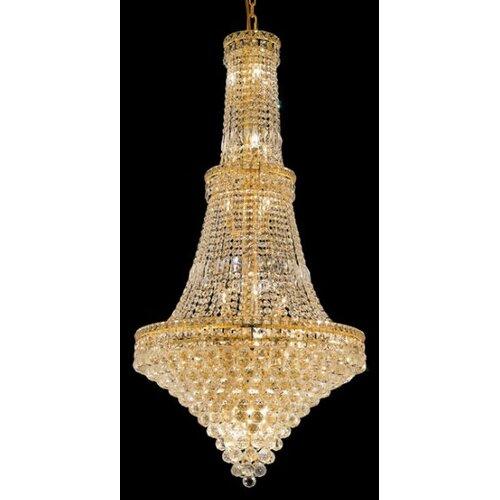 Elegant Lighting Tranquil 34 Light Chandelier