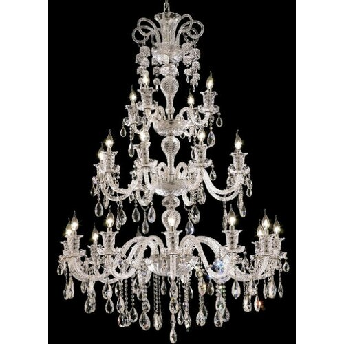 Elegant Lighting Elizabeth 24 Light Chandelier