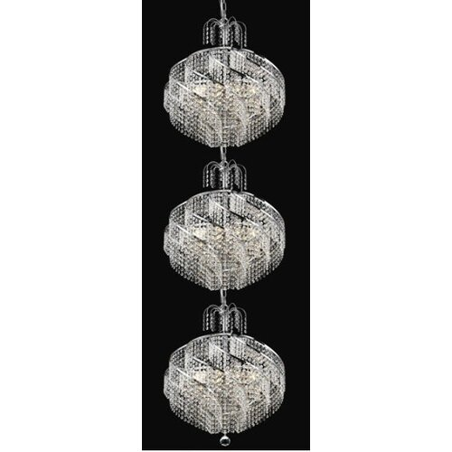 Elegant Lighting Spiral 30 Light  Chandelier
