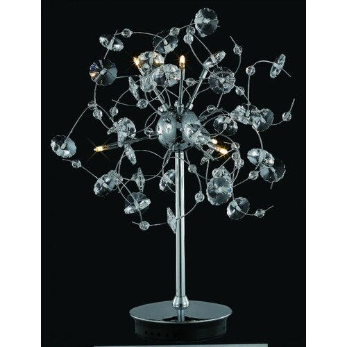 Elegant Lighting Iris 6 Light Table Lamp