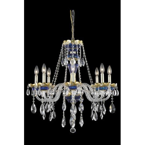 Elegant Lighting Alexandria 8 Light  Chandelier