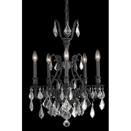 Elegant Lighting Monarch 5 Light  Chandelier