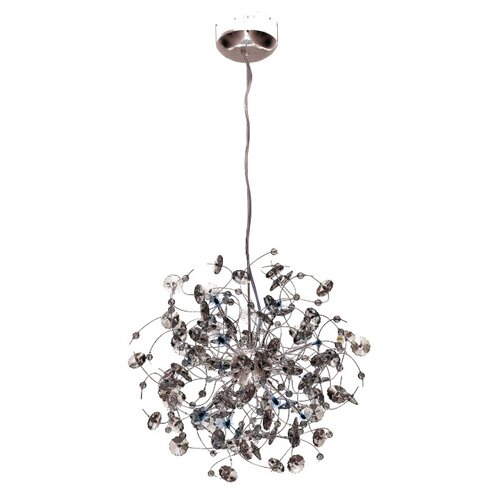 Elegant Lighting Iris 10 Light Pendant
