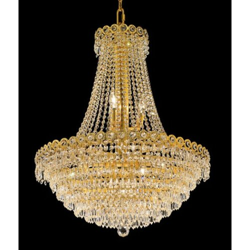 Elegant Lighting Century 12 Light Chandelier