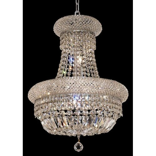 Elegant Lighting Primo 8 Light Chandelier