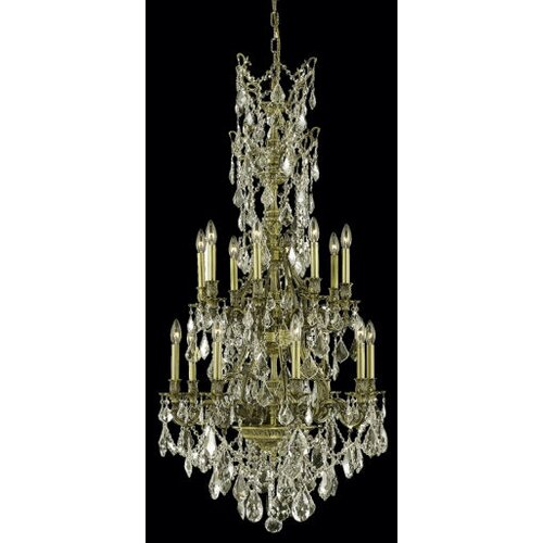 Elegant Lighting Monarch 16 Light Chandelier