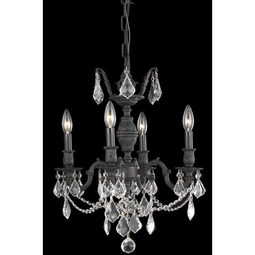 Elegant Lighting Marseille 4 Light  Chandelier