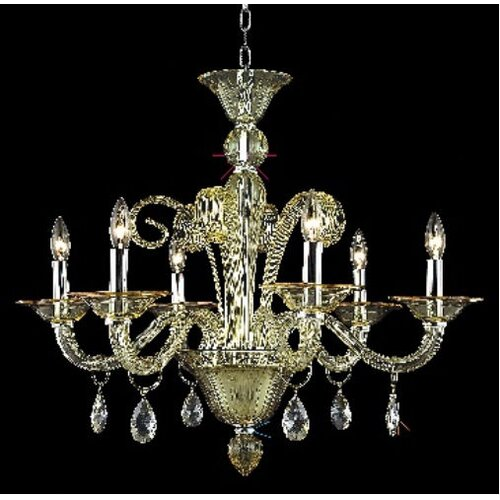 Elegant Lighting Muse 6 Light  Chandelier