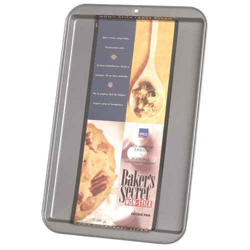 "Baker's Secret 9.25"" x 13.25"" Cookie Sheet"