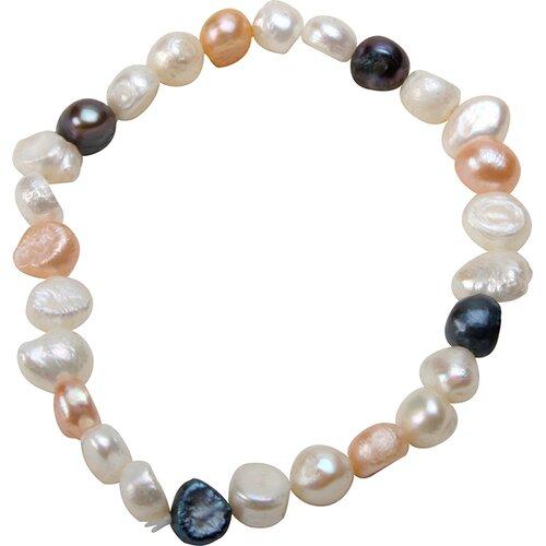 Bret Roberts Genuine Baroque Cultured Pearl Strand Bracelet