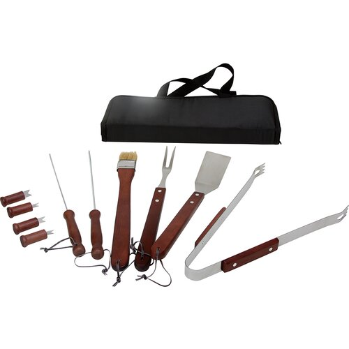 The Premium Connection KitchenWorthy 11 Piece Grilling Tool Set