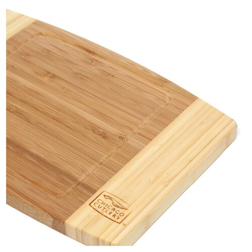 "Chicago Cutlery Woodworks 12"" x 8"" x 0.75"" Bamboo Cutting Board"