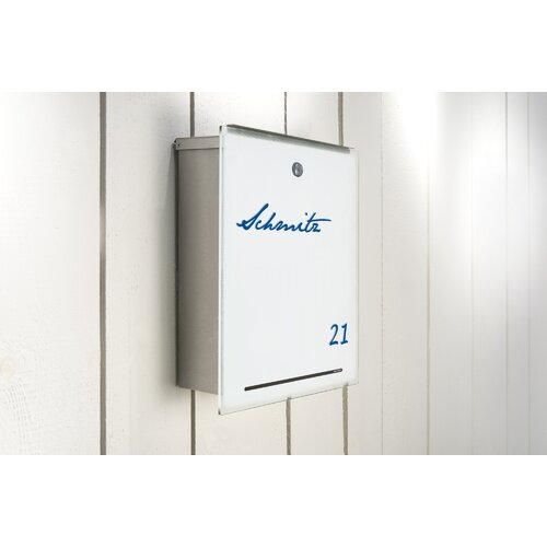 Radius Design Letterman III Wall Mounted Letter Box
