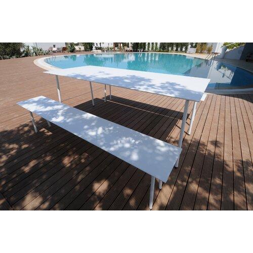 Radius Design Air Aluminum Picnic Bench