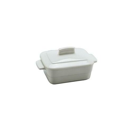 0.16-qt. Solid Porcelain Rectangular Casserole