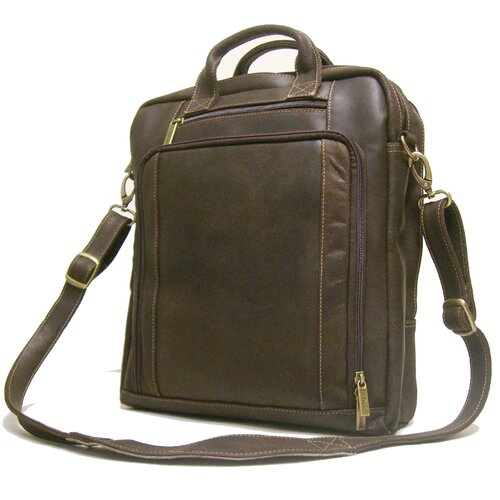 Leather Distressed Laptop Briefcase