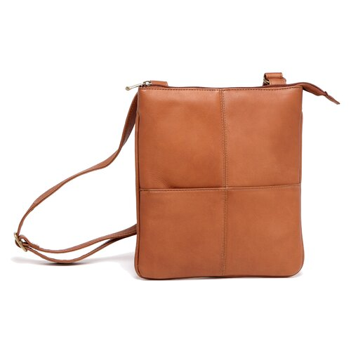 Le Donne Leather E-Reader/I-Pad Cross Body Bag